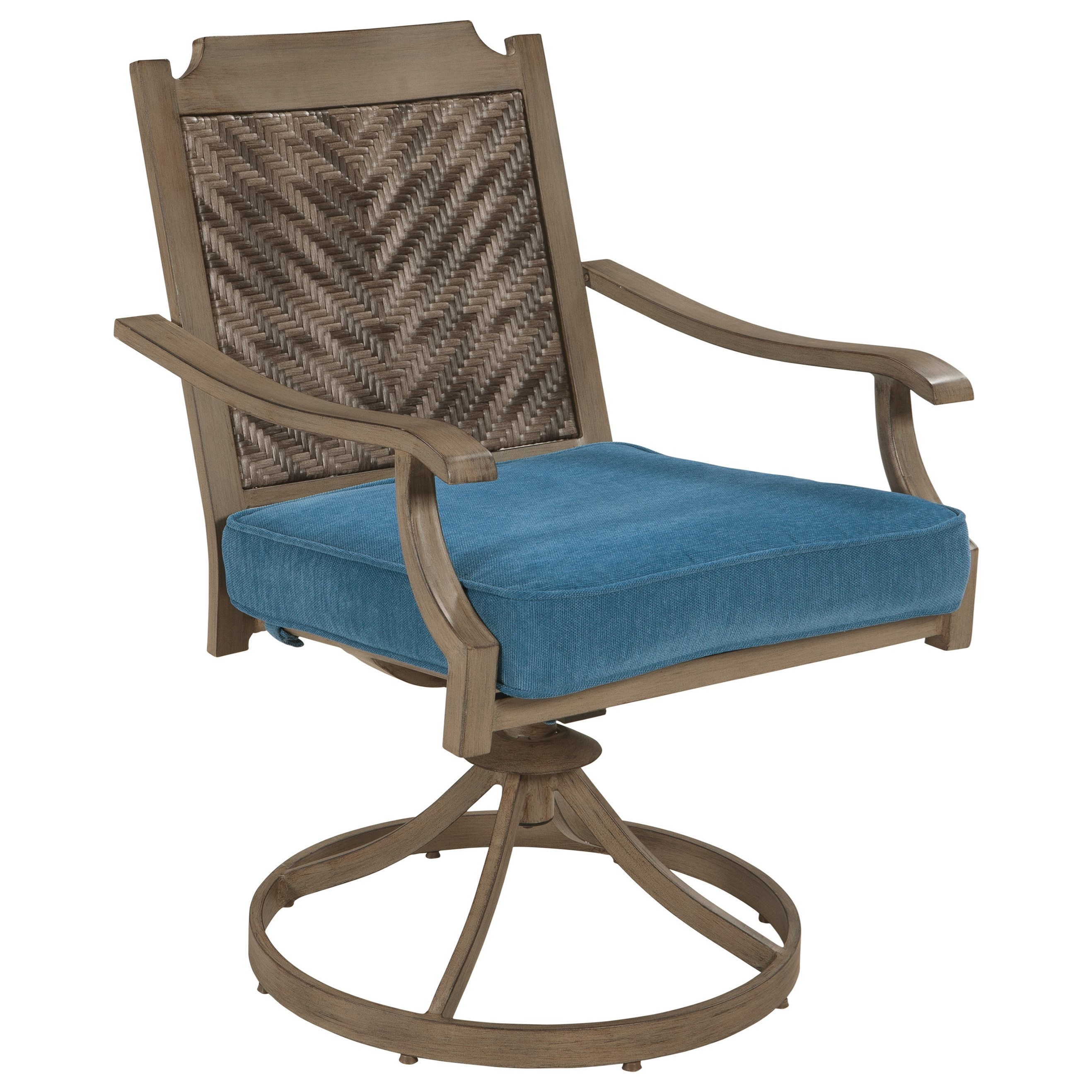 Beau Outdoor Swivel Chair With Cushion