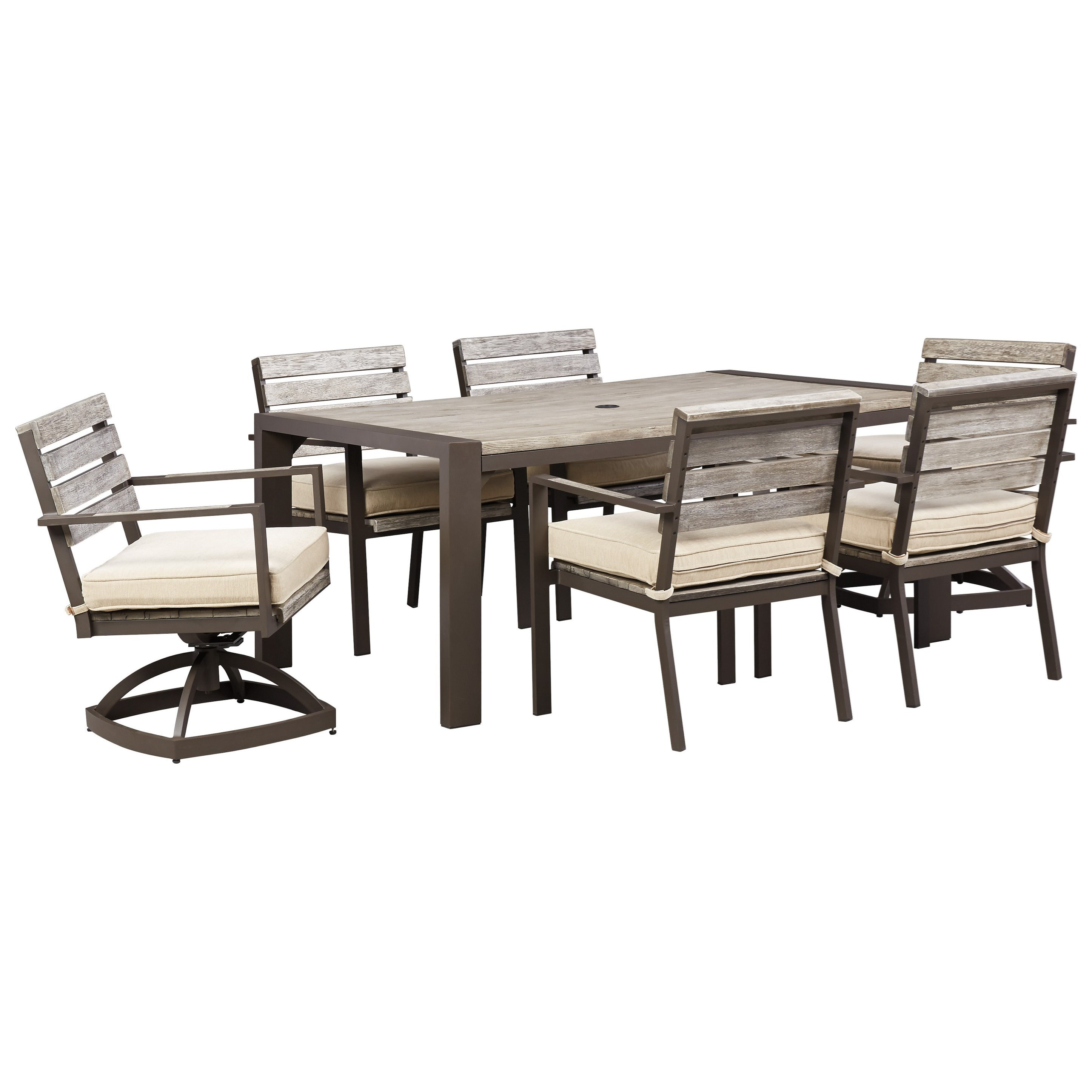 Beautiful Patio Dining Table and Chairs