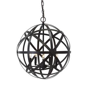Signature Design by Ashley Pendant Lights Cade  Bronze Finish Metal Pendant Light