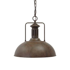 Signature Design by Ashley Pendant Lights Famke Antique Brown Metal Pendant Light