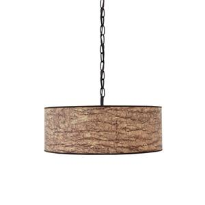 Signature Design by Ashley Pendant Lights Dajuan Light Brown Paper Pendant Light