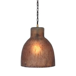 Signature Design by Ashley Pendant Lights Edalene Brown Glass Pendant Light