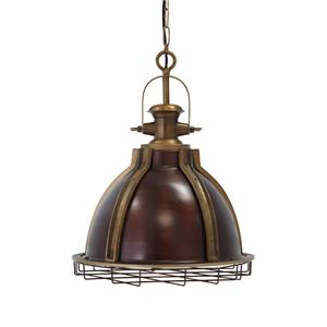 Signature Design by Ashley Pendant Lights Fanchon Brass Finish Metal Pendant Light