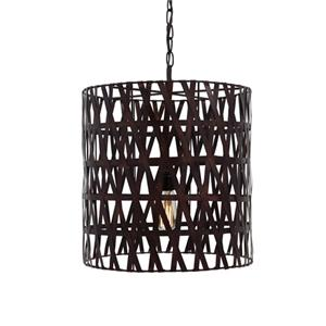 Signature Design by Ashley Pendant Lights Faolan Copper Finish Metal Pendant Light