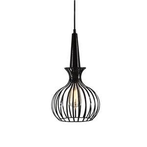 Ichiro Black Metal Pendant Lamp