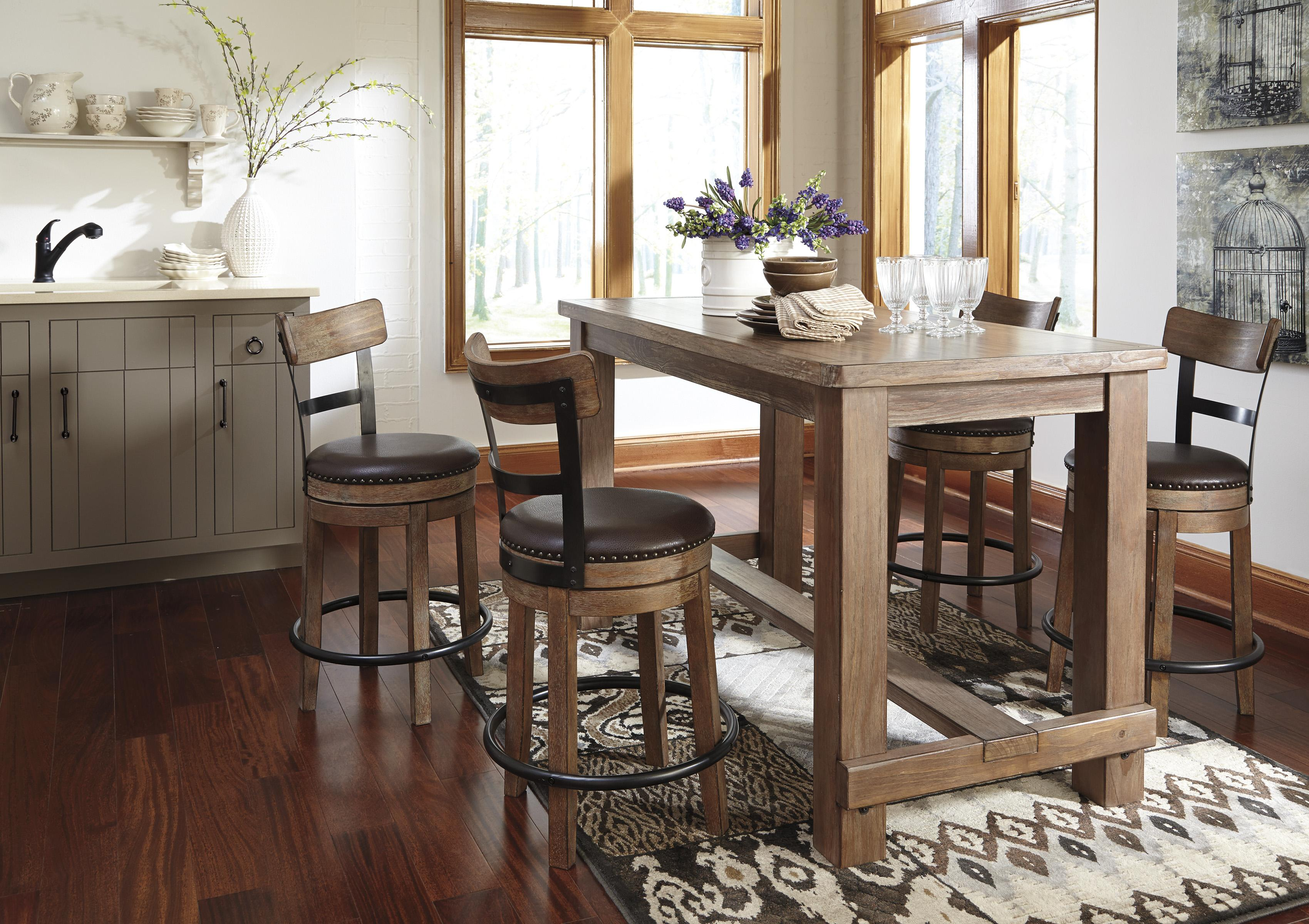 Amazing Counter Table Set Part - 3: 5-Piece Counter Table Set