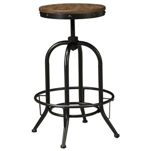 Signature Design by Ashley Pinnadel Tall Swivel Stool