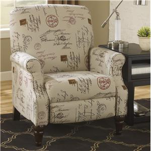 Signature Design by Ashley Furniture Placido High Leg Recliner