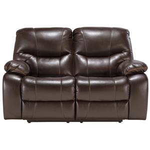 Signature Design by Ashley Furniture Pranas Reclining Loveseat