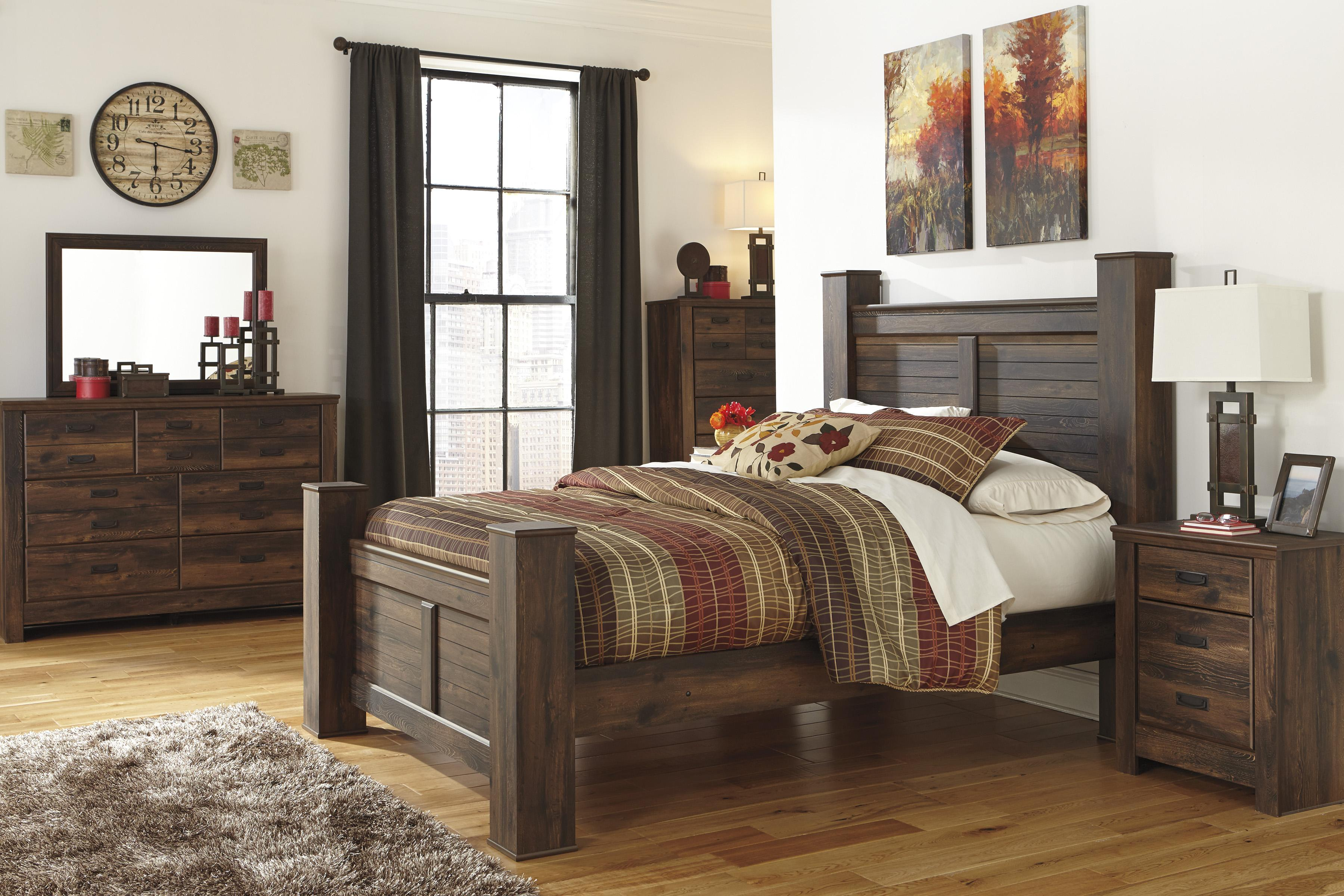 Queen Bedroom Group By Signature Design By Ashley Wolf And Gardiner Wolf Furniture