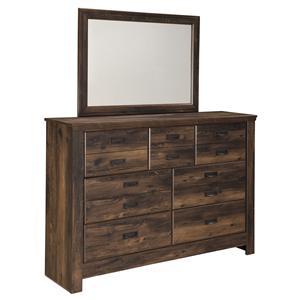 Ashley (Signature Design) Quinden Dresser & Mirror