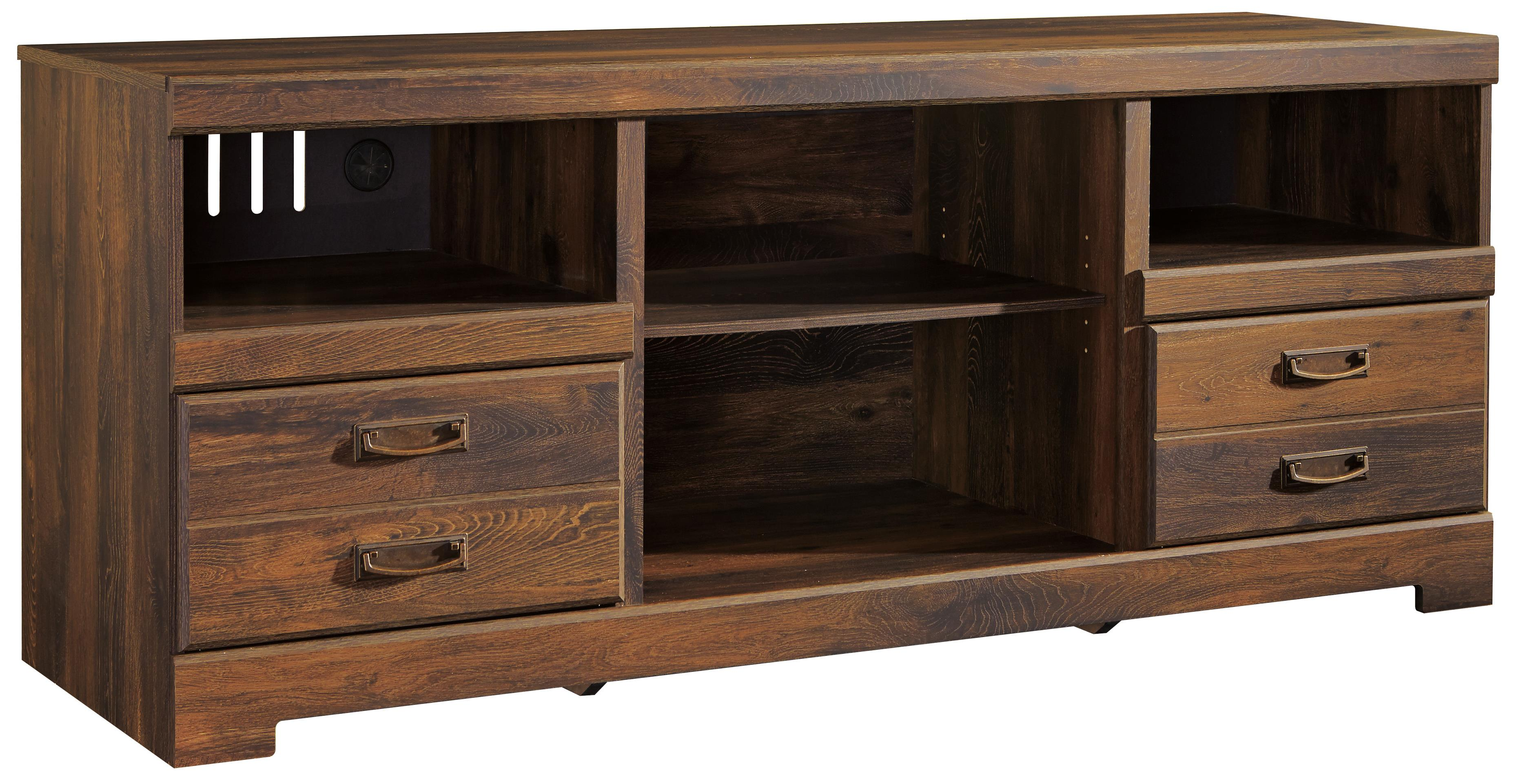 Rustic Casual Large TV Stand