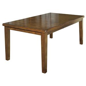 Signature Design by Ashley Furniture Ralene Rectangular Butterfly Leaf Dining Table