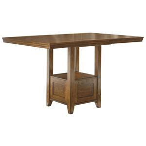 Signature Design by Ashley Furniture Ralene Rectangular Dining Room Counter EXT Table