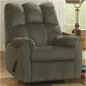 Rocker Recliner w/ Padded Arms