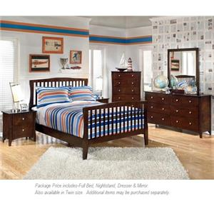 Signature Design by Ashley Rayville 4-PC Full Bedroom