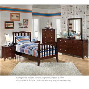 Signature Design by Ashley Rayville 4-PC Twin Bedroom