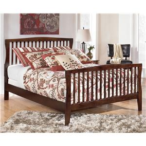 Signature Design by Ashley Furniture Rayville Queen Panel Bed