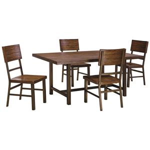 Signature Design by Ashley Riggerton 5-Piece Table Set
