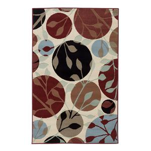 Signature Design by Ashley Furniture Contemporary Area Rugs Anya - Leaf Area Rug