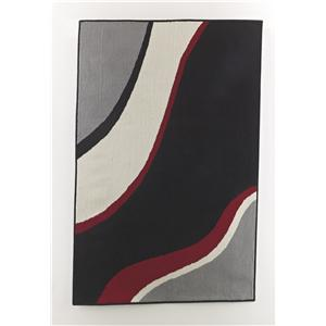 Signature Design by Ashley Furniture Contemporary Area Rugs Livy - Wave Medium Rug