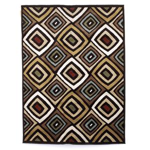 Signature Design by Ashley Contemporary Area Rugs Rhombus - Multi Medium Rug