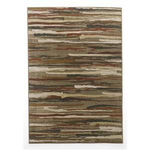 Signature Design by Ashley Furniture Contemporary Area Rugs Vernon - Cinnabar Medium Rug