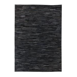 Signature Design by Ashley Contemporary Area Rugs Cowhide - Black Large Rug