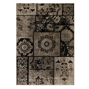 Signature Design by Ashley Traditional Classics Area Rugs Patterned - Gray Medium Rug