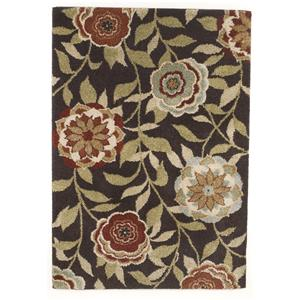 Signature Design by Ashley Transitional Area Rugs Ballari - Brown Medium Rug