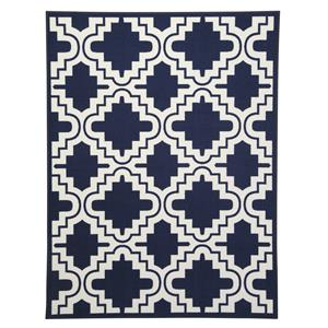 Signature Design by Ashley Transitional Area Rugs Jacory Navy Medium Rug