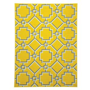 Signature Design by Ashley Transitional Area Rugs Zarek Yellow Medium Rug