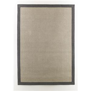 Signature Design by Ashley Transitional Area Rugs Delta City - Steel Medium Rug