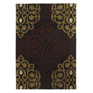 Signature Design by Ashley Transitional Area Rugs Arlette Cinnamon Medium Rug