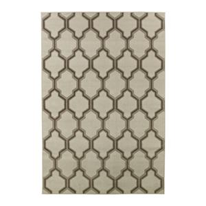 Signature Design by Ashley Transitional Area Rugs Lonsdale Brown Medium Rug