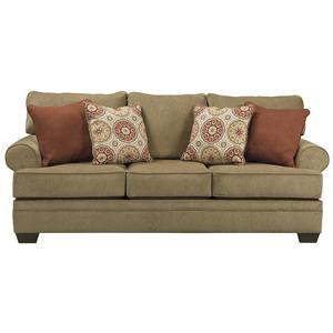 Signature Design by Ashley Furniture Sevan - Sand Queen Sofa Sleeper