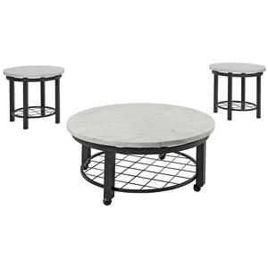 Signature Design by Ashley Shanileigh Occasional Table Set