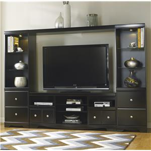 Signature Design by Ashley Furniture Shay Entertainment Wall Unit