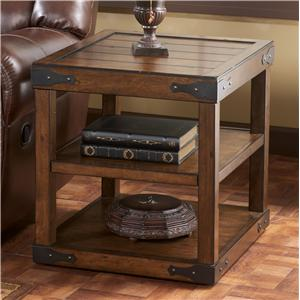 Signature Design by Ashley Shepherdsville Rectangular End Table