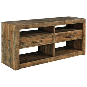 Solid Wood Reclaimed Pine Dining Room Server