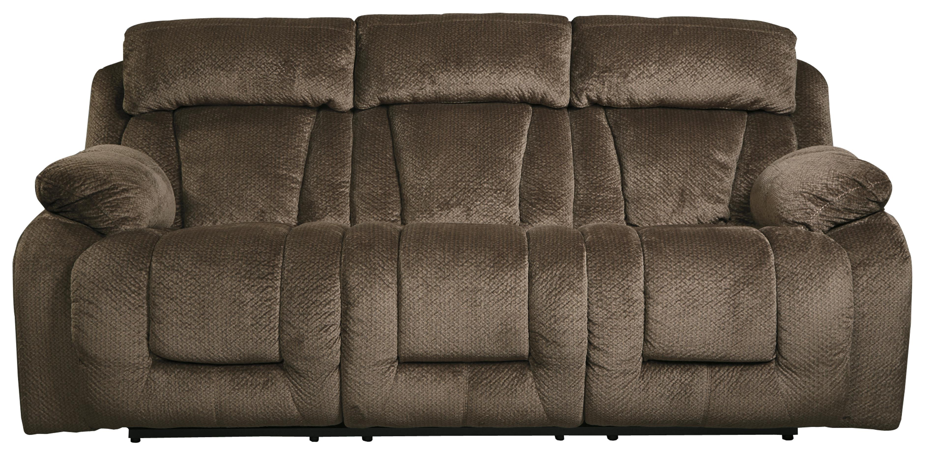 Contemporary Reclining Power Sofa by Signature Design by Ashley