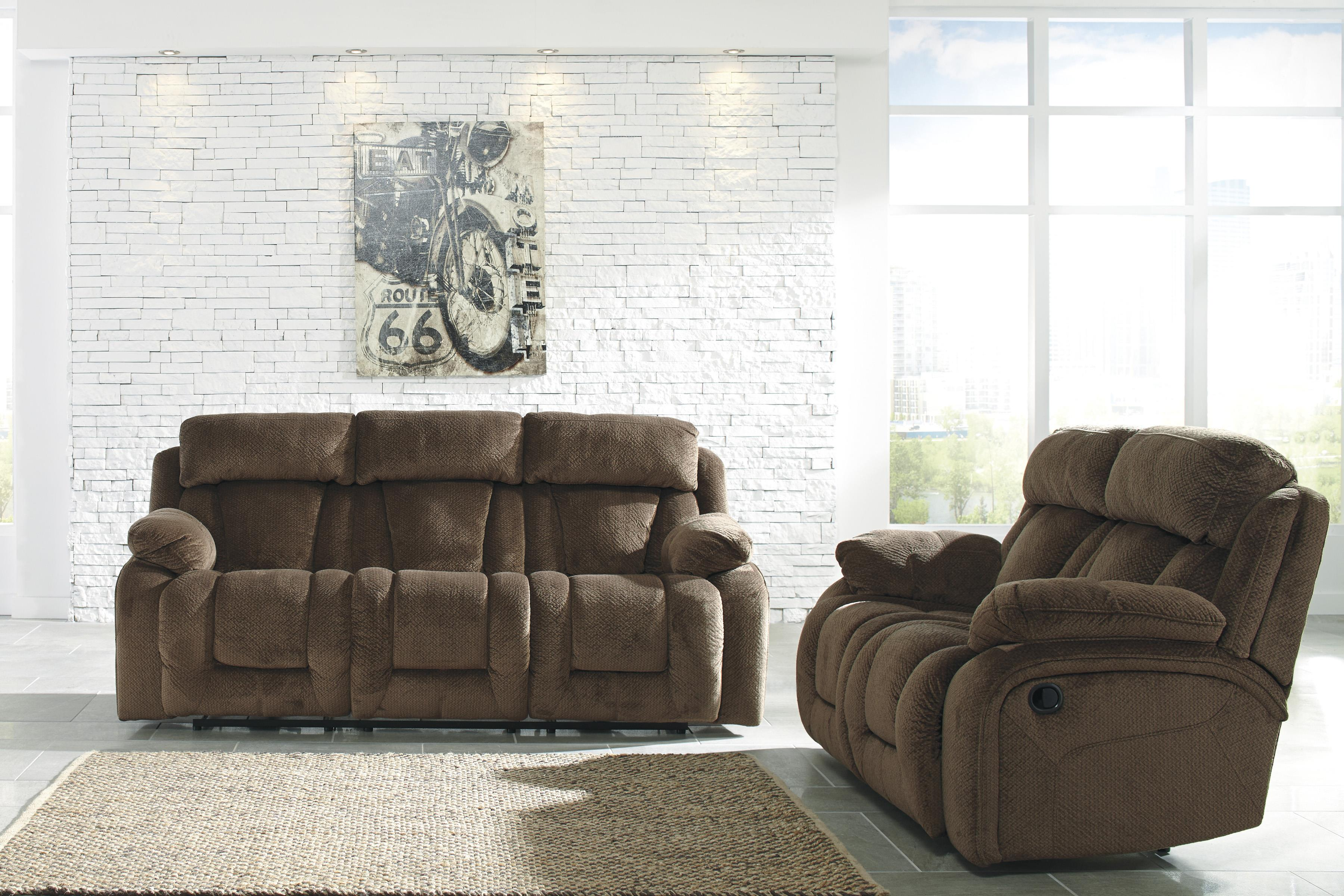 Contemporary Reclining Power Sofa by Signature Design by Ashley ...