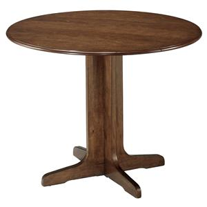 Signature Design by Ashley Furniture Stuman Round Drop Leaf Table
