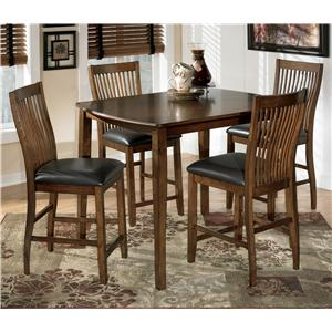 Signature Design by Ashley Stuman Rectangular Dining Room Counter Table Set