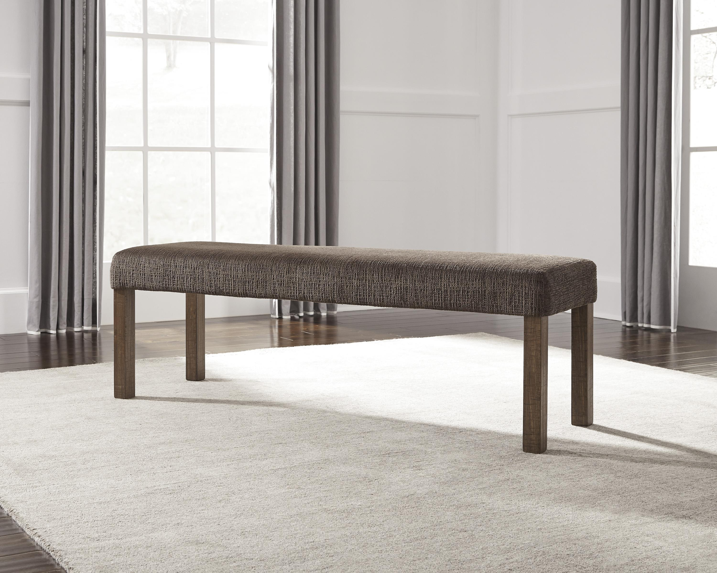 Large Upholstered Dining Room Bench By Signature Design By Ashley