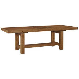 Rectangle Dining Room Table with Leaf