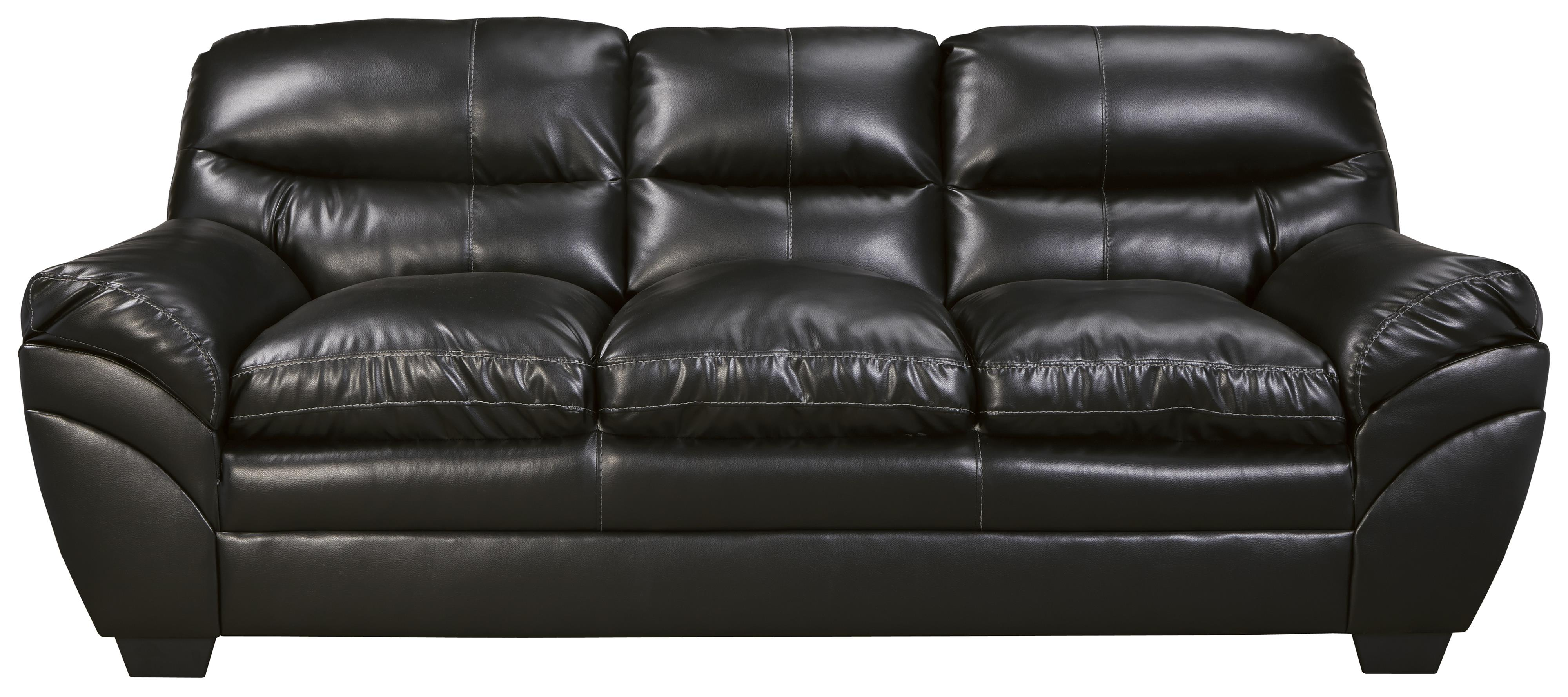 Faux Leather Sofa by Signature Design by Ashley