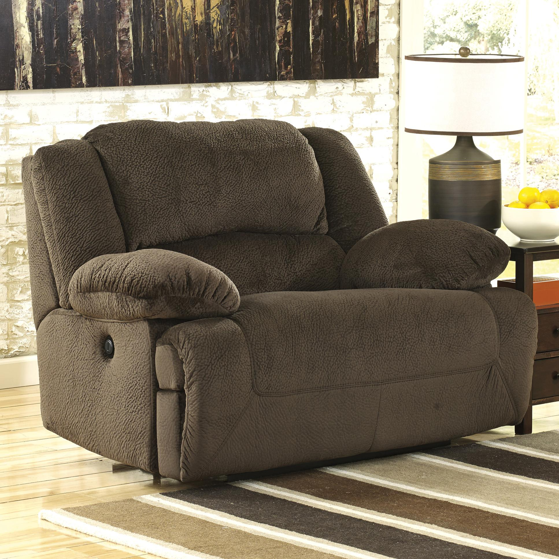 Incroyable Wide Seat Power Recliner