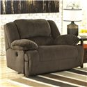 Signature Design by Ashley Toletta - Chocolate Zero Wall Power Wide Recliner - Item Number: 5670182