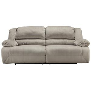 Casual Contemporary 2 Seat Reclining Sofa